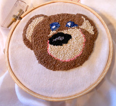 French Knot Monkey Done!
