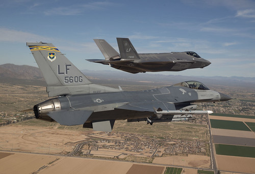 First F-35 at Luke AFB