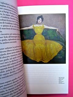 Proust. I colori del tempo, di Eleonora Marangoni. Electa 2014. Design di Paolo Tassinari e Leonardo Sommoli. Pag. 33 (part.), 2