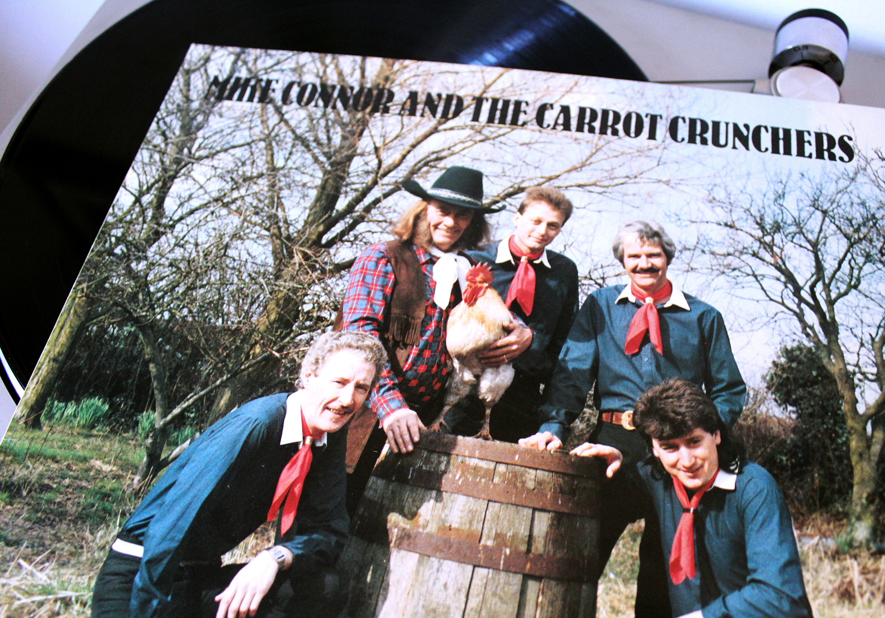 Mike Connor & the Carrot Crunchers - Back In The Cotswolds (Bumpkin Records  - Bumpkin 001, 1986)