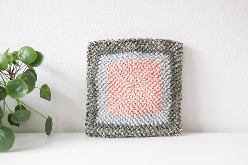 crochet cushion by lotte janssens from Belle Fleur de Lis