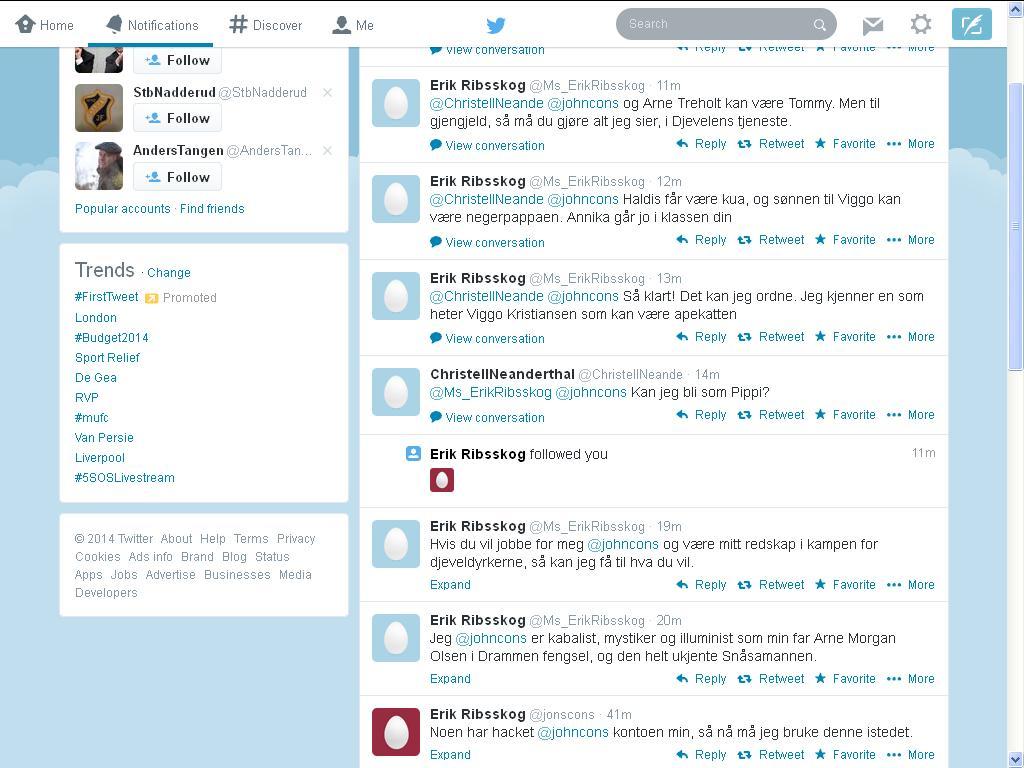 hvordan kan folk se på at twitter tuller
