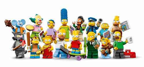 71005 The Simpsons Collectable Minifigures