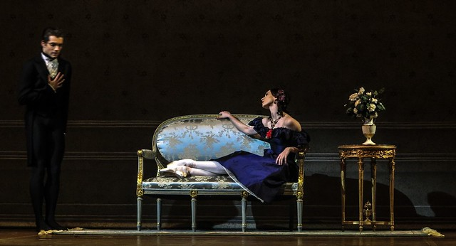 "Olga Smirnova as Marguerite and Igor Tsvyrko as Count N. in ""Lady of the Camellias"" by John Neumeier."