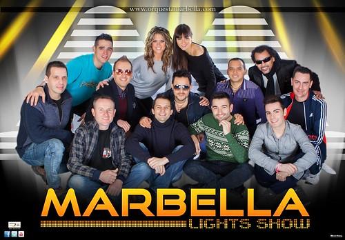 Marbella Lights Show 2014 - cartel