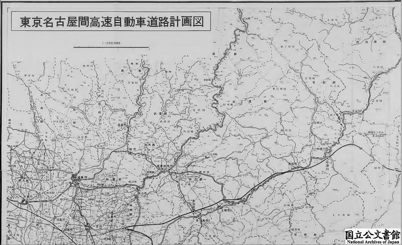 中央自動車道 南アルプスルート詳細図1