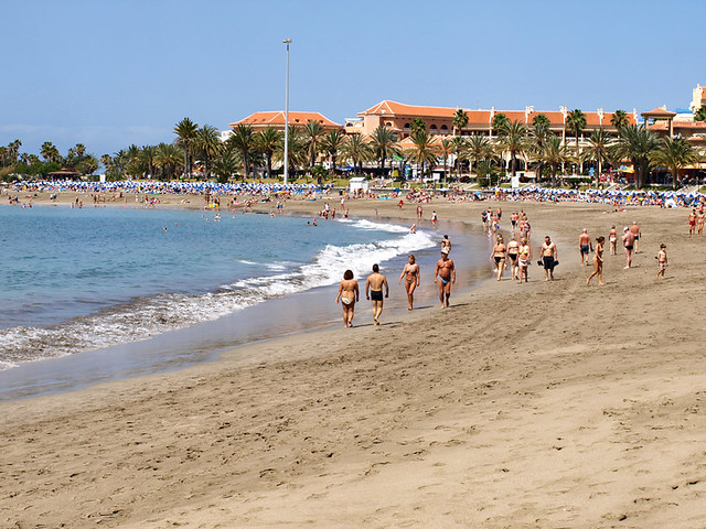 Bilderesultat for beach tenerife