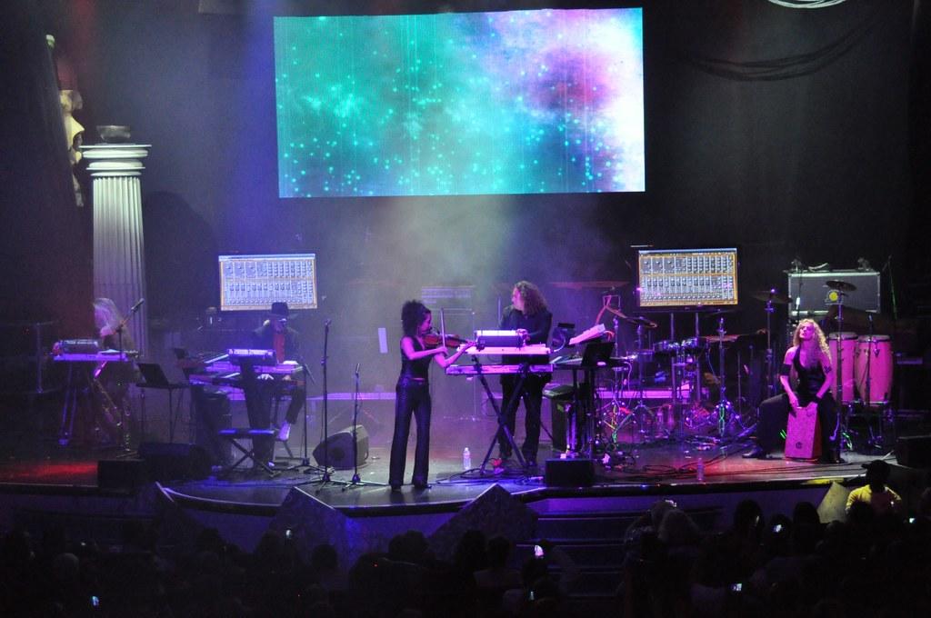 Tangerine Dream live on Cruise to the Edge 2014