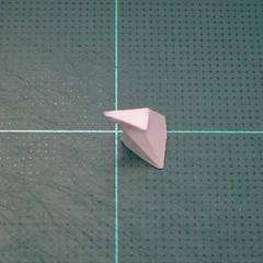 วิธีทำโมเดลกระดาษคุกกี้รสคุกกี้แอนด์ครีม  (Cookie Run Cream Cookie Papercraft Model) 002