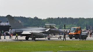 Abgeschleppt: Dassault Rafale C