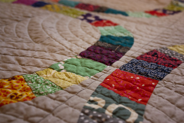 Single Girl quilting