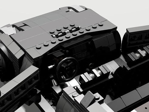 Lego Nissan 350Z - interior