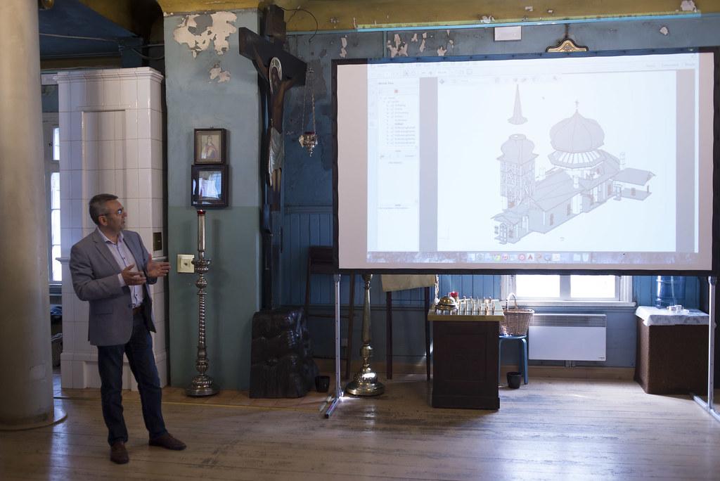 Esitlus Kaasani kirikus / Presenting project results at Kaasan Church