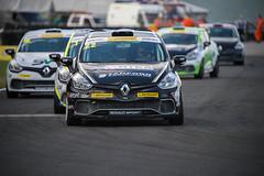 2015_BTCC_Croft-5662.jpg-Paul Rivett leads in the Renault UK Clio cup championship.