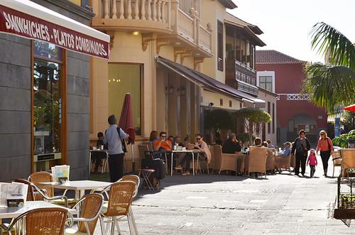 Coffee at Ebano Café, Puerto de la Cruz, Tenerife