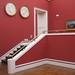 Rosso pompeiano e bianco intenso  :  Neue Pinakothek- classicita'