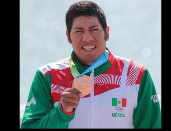 Bronce para México en finales de canotaje en Toronto