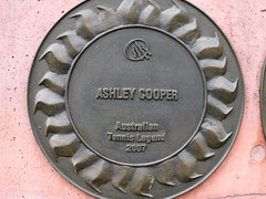 The Ashley Cooper Plaque - Roma Street Parkland, Brisbane City