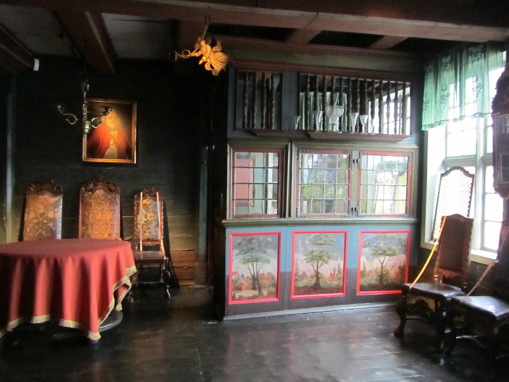 Despacho en el museo Hanseático
