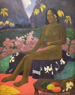 Paul Gauguin, The Seed of the Areoi, 1892 | by DeBeer