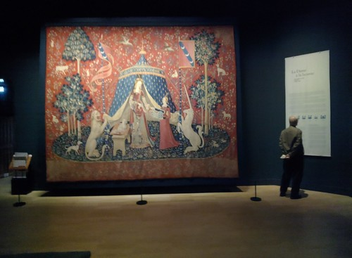 Lady and the Unicorn Tapestries, Musée de Cluny, Paris #throughglass