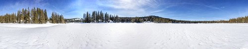 serenelakes winter snow lake donnersummitarea panorama