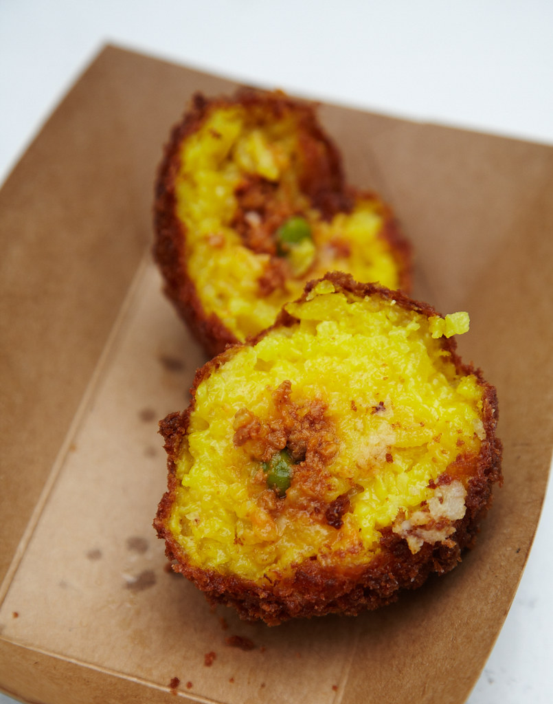 Arancini from Eataly