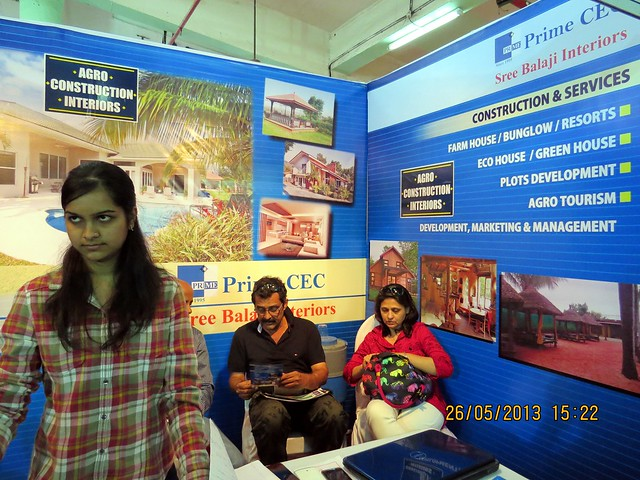 Prime C E C - Sree Balaji Interiors - Jagtap Dairy Pune - Visit Sakal Agrowon Green Home Expo, 25th and 26th May, 2013