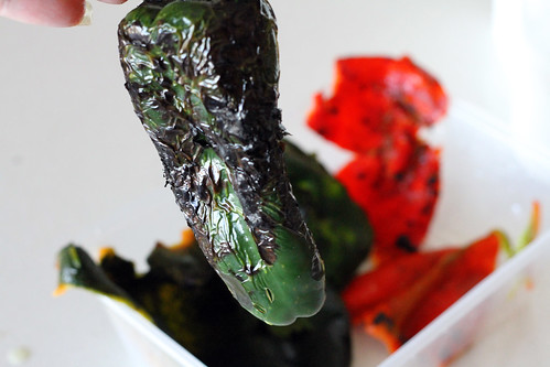 Roasted Poblanos