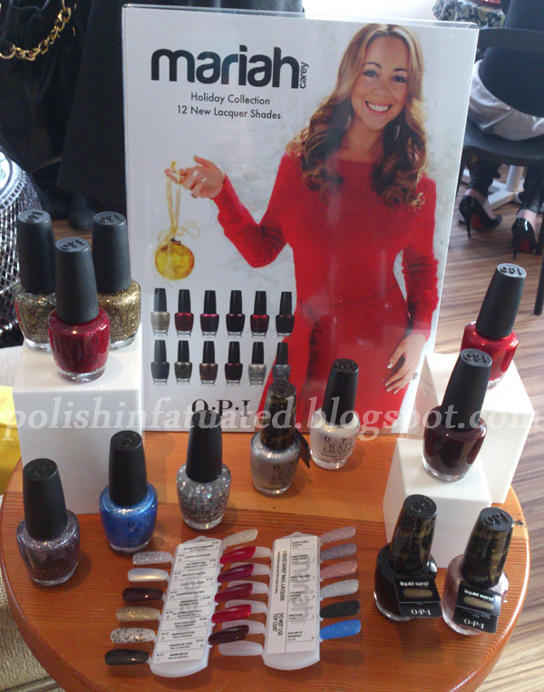 OPI Mariah Carey holiday collection 2013