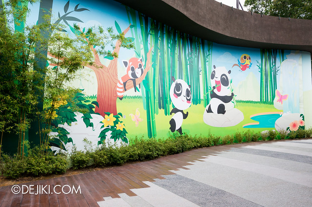 River Safari - Panda Forest Exit