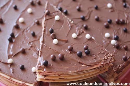 Tarta de obleas y nutella www.cocinandoentreolivos (7)
