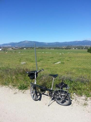 Carril Bici en Villalba, Madrid