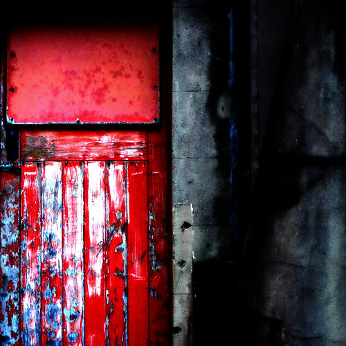 door city morning light red outside shadows exterior rear brisbane worn cbd aged patina burnettlane steffentuck