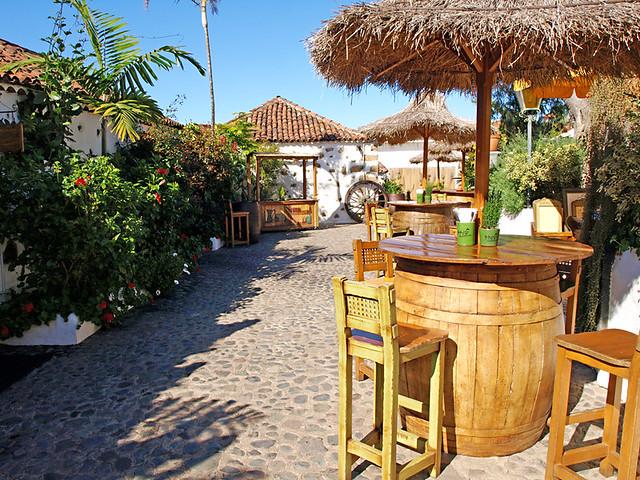 Courtyard, Tito's Bodeguita, Puerto de la Cruz, Tenerife