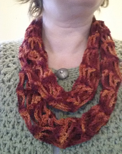 Shell Net Scarf in Wollmeise