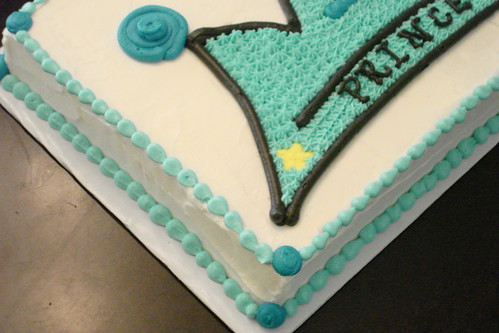 Baby Boy's 1st Birthday Cake by melissatarun