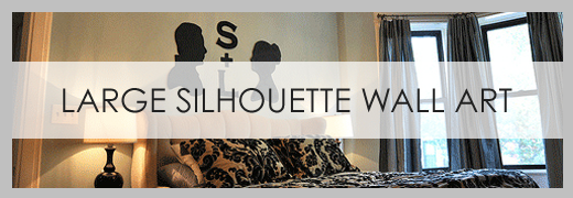 diy large silhouettes
