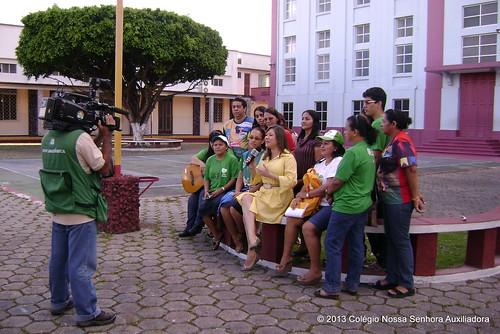 Entrevista com o grupo do CNSA que participou da JMJ RIO 2013 by cnsamanaus