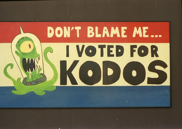 Don't Blame Me...I Voted for Kodos