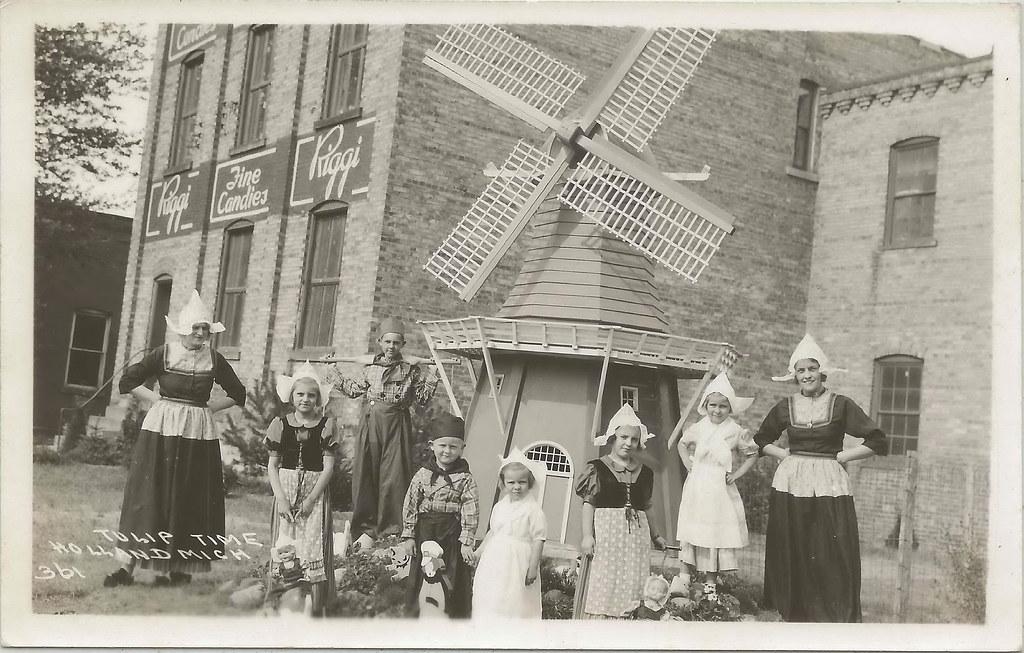 SW Holland MI RPPC 1930s SWEET The Joseph J Riggi CANDY CO