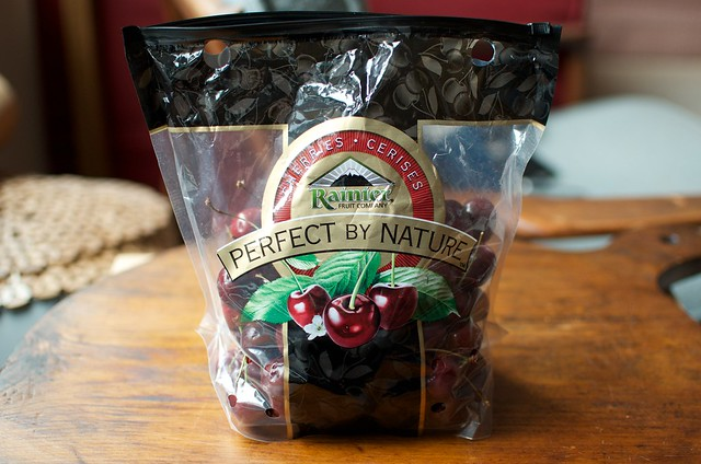 two pounds of cherries