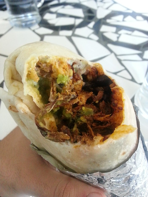 Pulled Pork Burrito - La Cantina Cafe