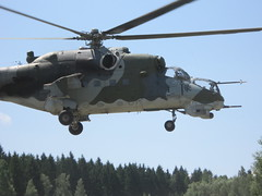 aircraft, aviation, helicopter rotor, helicopter, vehicle, military helicopter, mil mi-24, air force,