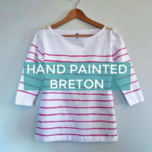 HAND PAINTED BRETON