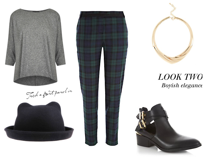 Daisybutter - UK Style and Fashion Blog: ways to wear, how to wear, the tartan trend, AW13, everyday outfits, back to school, how to wear tartan