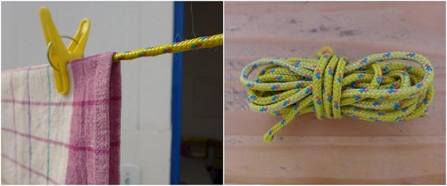 Apoio de panela - corda
