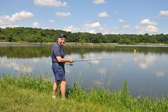 Fishing In Derwent River