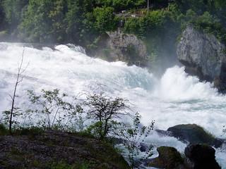 Cataratas del Rhin, Schaffhausen. Suiza
