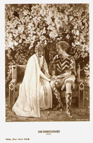 Paul Richter and Margarete Schön in Die Nibelungen (1924)
